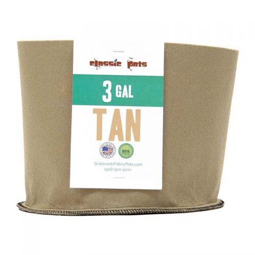 003 gallon tan classic