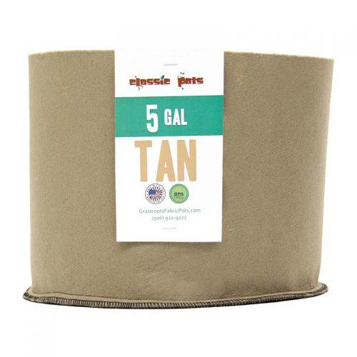 005 gallon tan classic