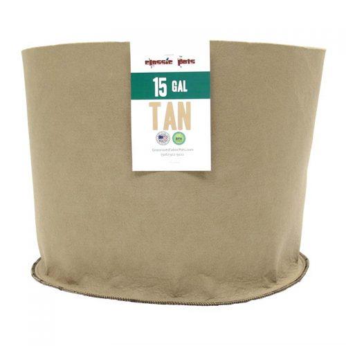 015 gallon tan classic