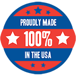 100 percent made in the USA.