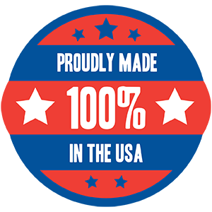 Made in USA for next level quality