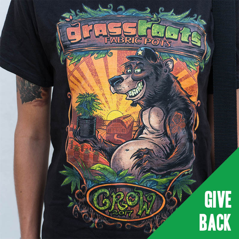 Grassroots Grow 2017 Bear Tee