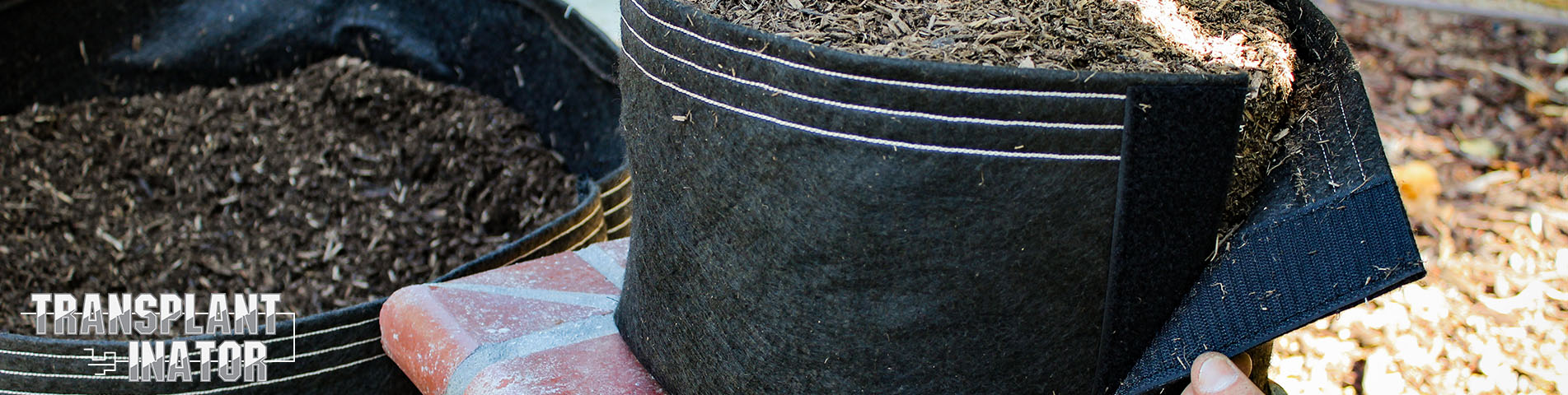 transplant-inator by grassroots fabric pots